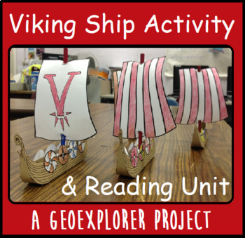 Viking Ship Interactive Geoexplorers Reading Project Vikings