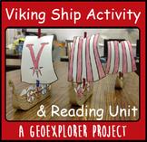 Viking Ship Interactive Geoexplorers Reading Project Vikings