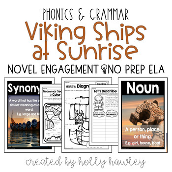 Viking Ships at Sunrise NO PREP (ELA)