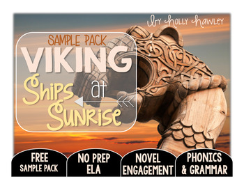 Viking Ships at Sunrise NO PREP (ELA) SAMPLE