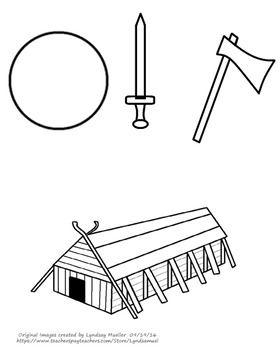 Viking Unit Study Coloring Page