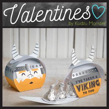 Viking Valentine Treat Box