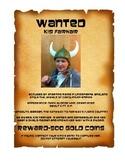 Viking Wanted Poster