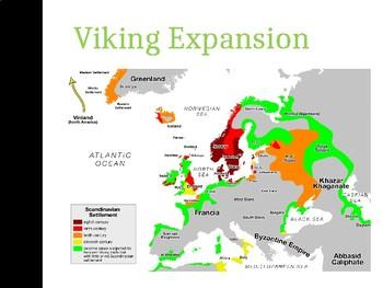 Viking expansion: raiding and trading