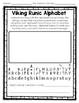 Vikings Activities - Viking Longship 3-D Model & Runic Alp