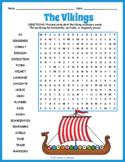 Age of the Vikings Word Search