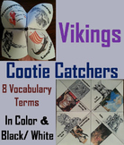 Vikings Activity (Cootie Catcher Foldable Review Game)