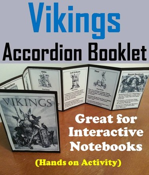Vikings Unit: Interactive Notebook Foldable Activity