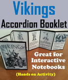 Vikings Unit: Interactive Notebook Foldable Activity
