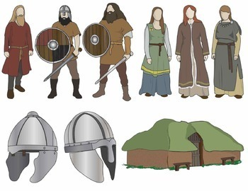 Vikings Clip Art: People and Artifacts