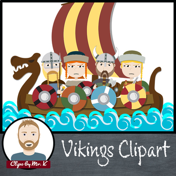 Vikings Clipart (Clips by Mr. K)