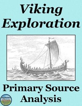 Vikings Primary Source Analysis and 4 Creative Activities
