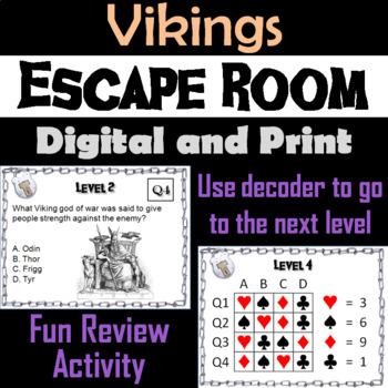 Vikings: Escape Room - Social Studies