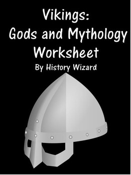 Vikings: Gods and Mythology Worksheet