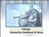 Vikings: Interactive Notebook & More (2nd- 4th Grades)