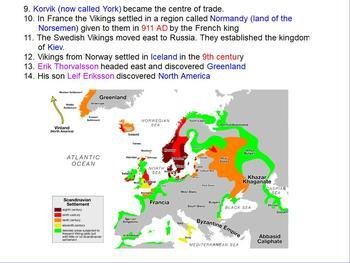 Vikings - Leaving home and Exploration flipchart