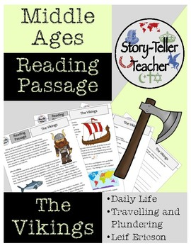 Vikings Middle Ages Reading Passage