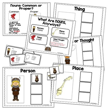 Nouns   Nouns Sorting   Person, Place, or Thing
