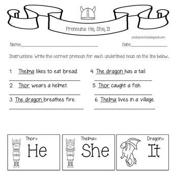 PRONOUNS •  Posessive Pronouns •  Subjective Pronouns