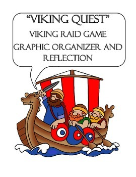 Vikings Raid Game Graphic Organizer and Reflection