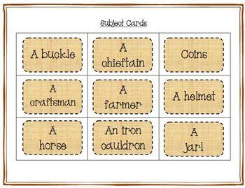 Vikings Word Work - Silly Sentences for Fluent Readers