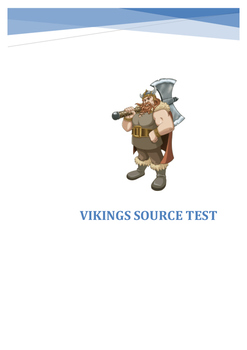 Vikings Source Test and Marking Criteria