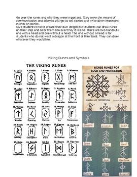 Vikings: Symbols, Runes, and Designing a Longship Lesson Plan
