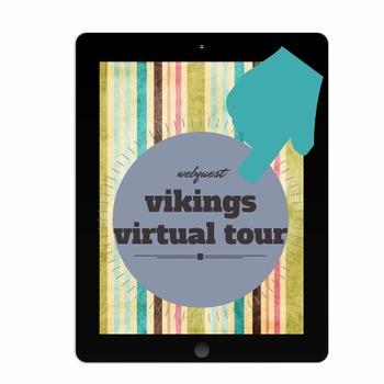 """Vikings Virtual Tour/Webquest using BBC America""""Primary Hi"""