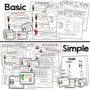 Fun with Verbs | Grammar Worksheets