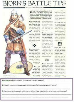 Vikings - Warfare and the Berserkers