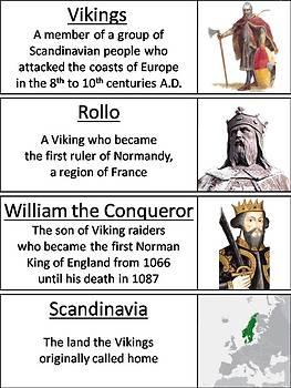 Vikings Word Wall Cards
