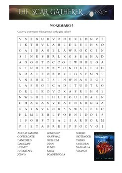 Vikings Word search and Crossword