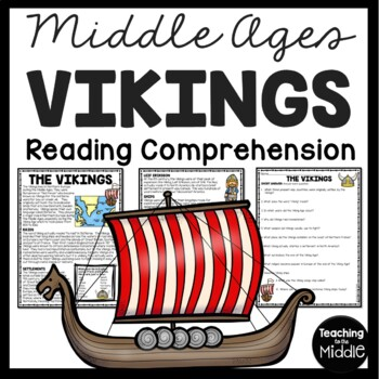 Vikings article and questions, Middle Ages, European History