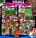 Vikings clip art- 100 items!