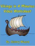 Vikings in 4 Minutes Video Worksheet