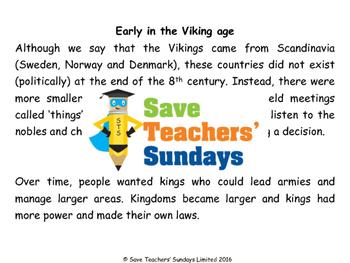 Vikings unit (7 lessons)