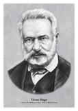 Viktor Hugo - original illustration
