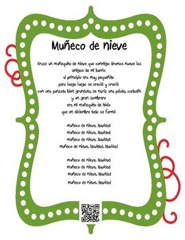 Villancicos Navidenos con Codigos QR - Spanish Christmas Carols with QR Codes