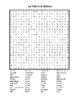 Maison et Ville (House and City in French) wordsearch