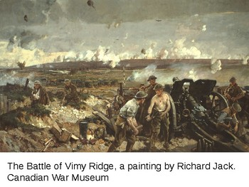 Vimy Ridge Graphic Organizer KWL Activity