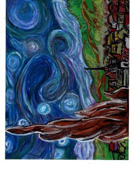 Vincent Van Gogh Art Activity For Classroom Teachers,Step by Step
