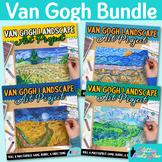 Vincent Van Gogh Art Project Bundle 2: Art Sub Plans, Rubrics, Reflection Sheets