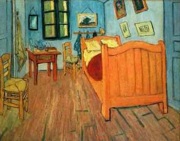 "Vincent Van Gogh ""Bedroom At Arles"" Printable Art Project"