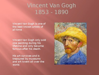 Vincent Van Gogh Drawing Lesson