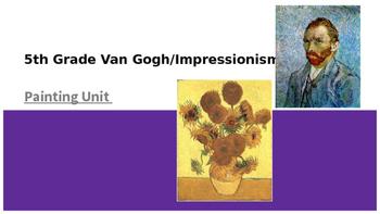 Vincent Van Gogh Flower Painting Project PowerPoint Presentation