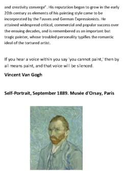 Vincent Van Gogh Handout
