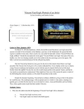 Vincent Van Gogh - Informational Text Test Prep
