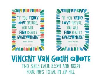 Vincent Van Gogh Inspirational Poster 3