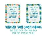 Vincent Van Gogh Inspirational Poster 2