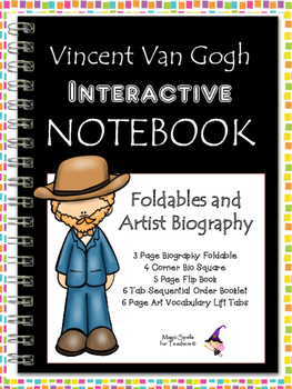 Vincent Van Gogh - Famous Artist Biography Research Project - Interactive NB
